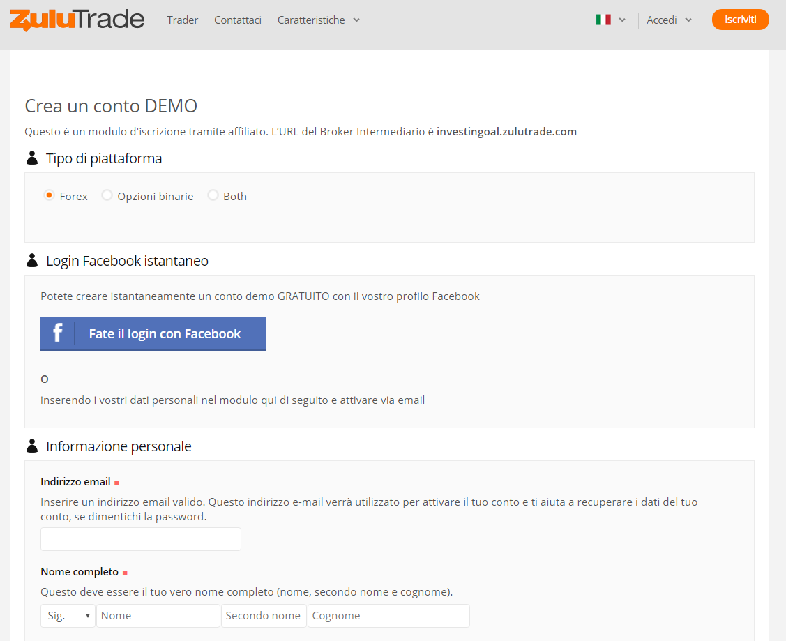 Binary option robot ita
