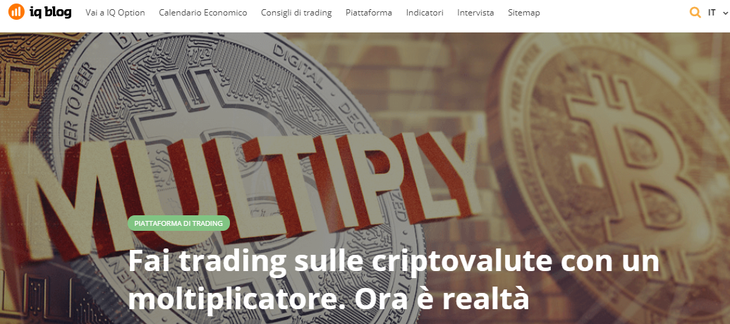 Iq Option: moltiplicatore