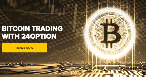 trading bitcoin con il broker 24option
