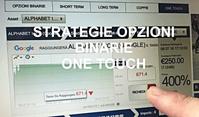 Opzioni Binarie One-Touch