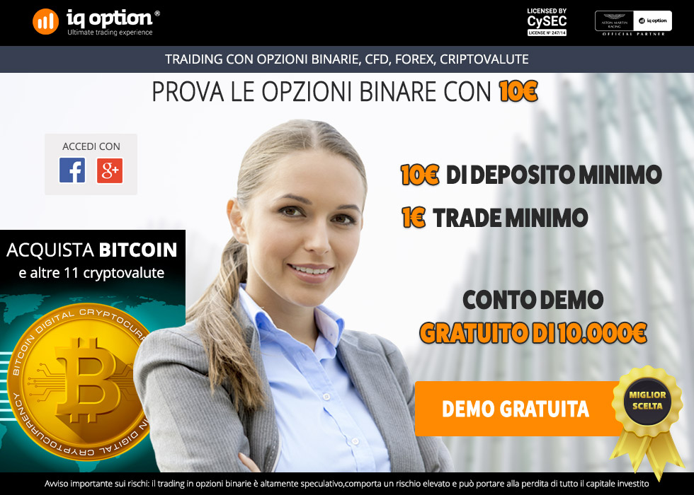 IQ Option: apertura conto