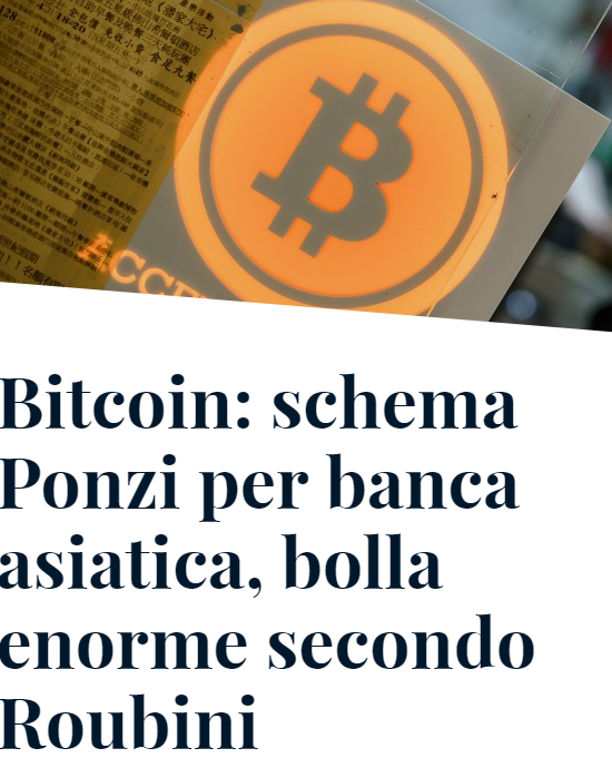 Bitcoin VS ponzi scheme: how does it work? Differences and