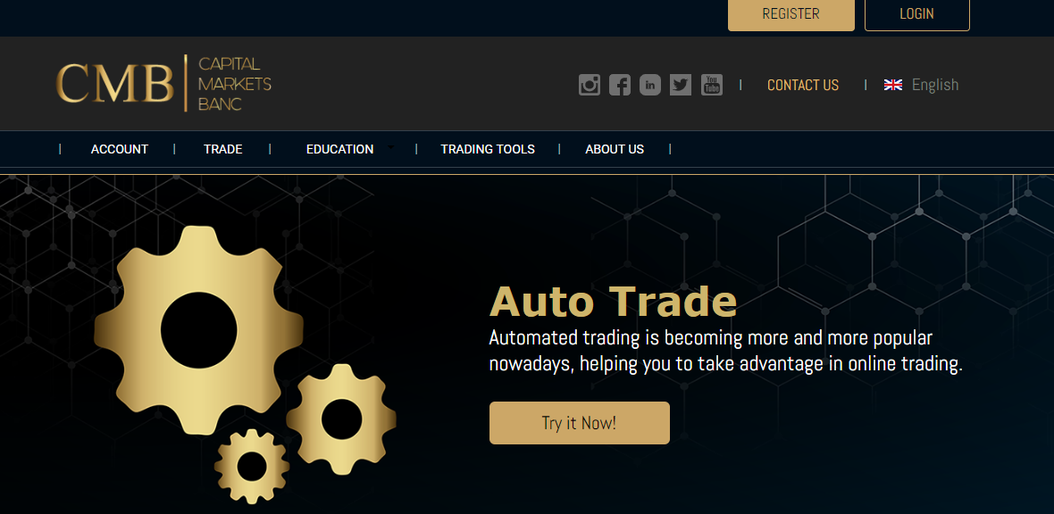 Capital markets banc auto trade